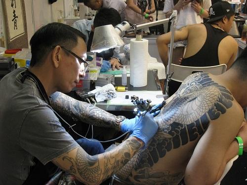 Международная тату-конвенция в Гонконге