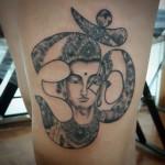 Татуировка Ом