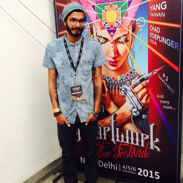 Тату фестиваль в Индии декабрь 2015